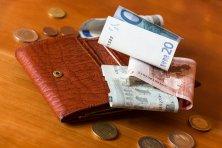 portfel i pieniądze