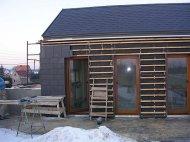 Dom budowany zimą